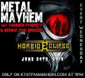 METAL MAYHEM radio KTST FM Anaheim